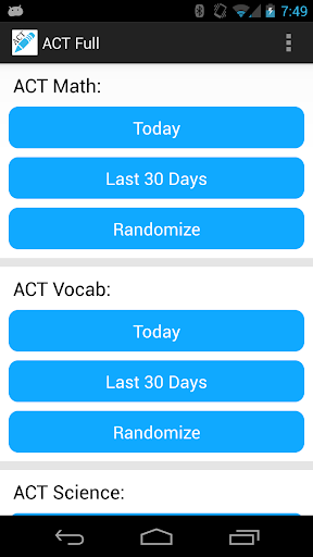 ACT Question of the Day Tutor