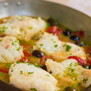 "Pesce all'acqua pazza (Fish Poached in ""Crazy Water"")."