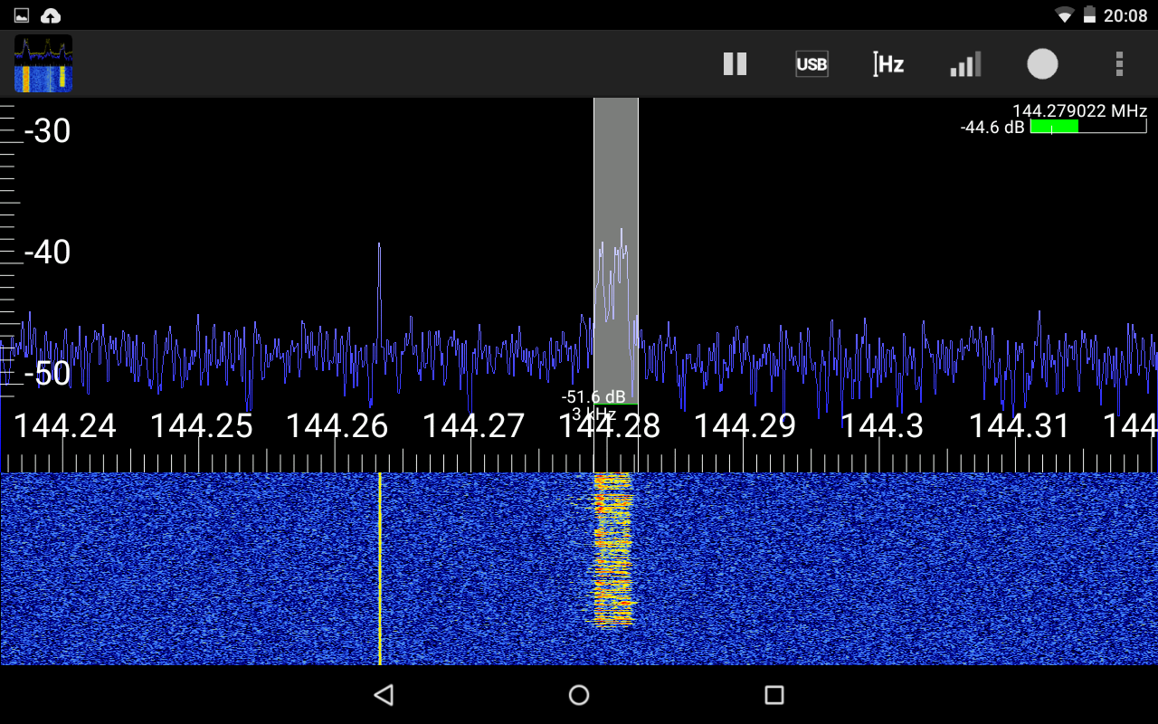 RF Analyzer- screenshot