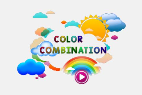 Color Combination Puzzle Game