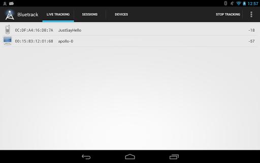 Bluetooth Tracker Bluetrack