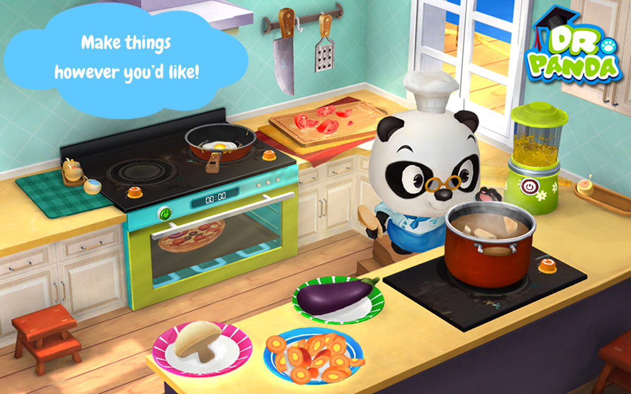Dr. Panda's Restaurant 2- screenshot