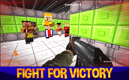 King Of Blocks Fist Tournament C-1 screenshot 55132