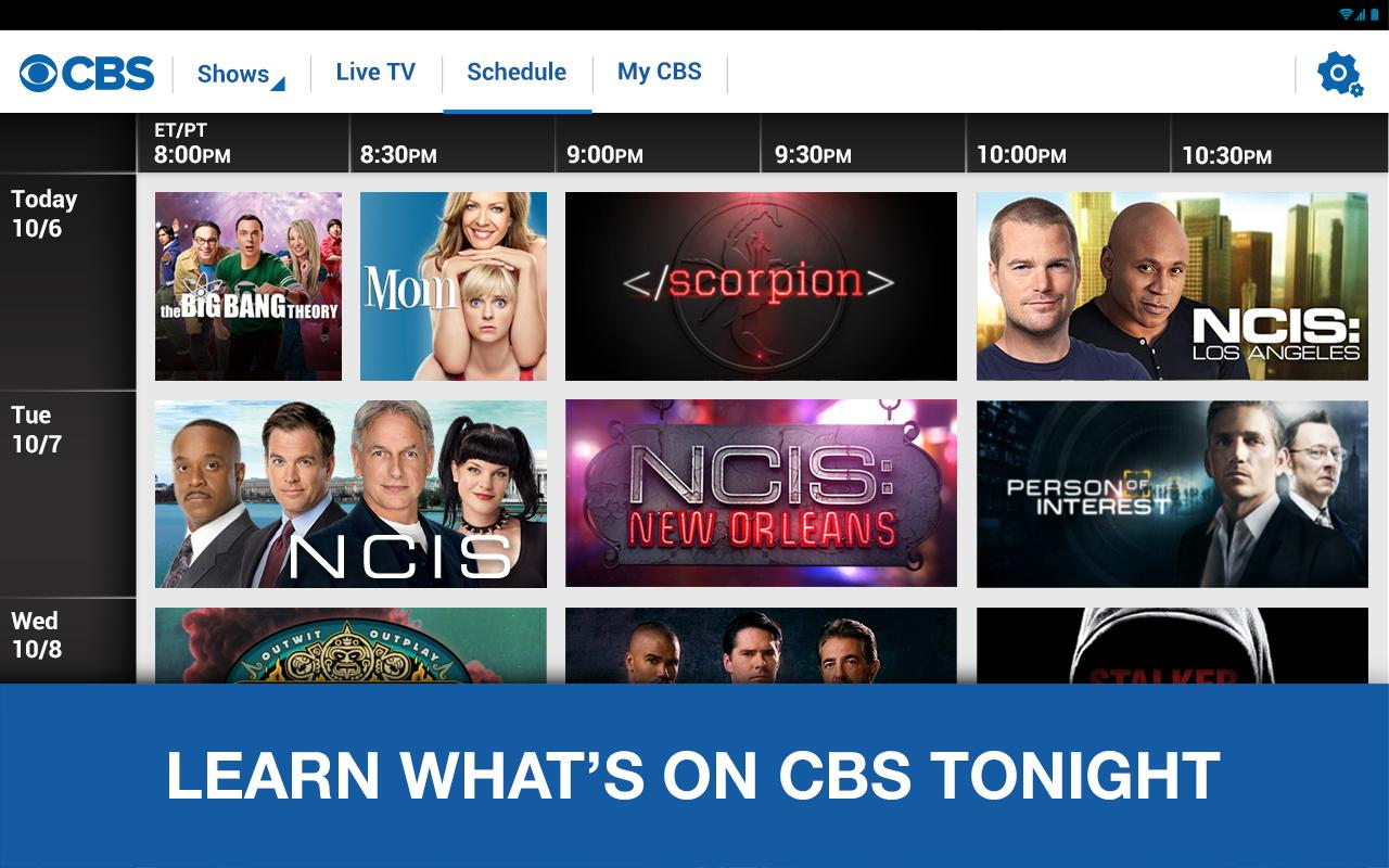 CBS- screenshot