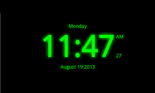Digital Clock Live Wallpaper 7 Android Apps On Google Play