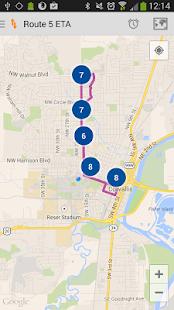 Corvallis Transit- screenshot thumbnail