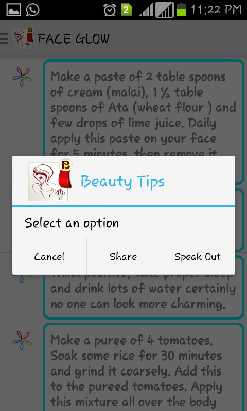 Beauty Tips - screenshot