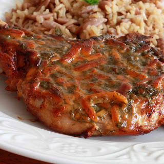 Honey Mustard Dilly Cheese Chops.