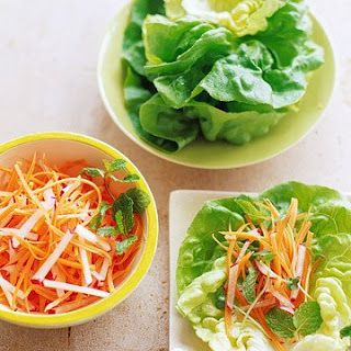 Carrot and Radish Bundles Recipe