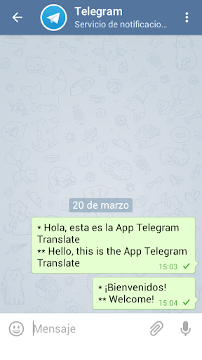 Telegram Translate