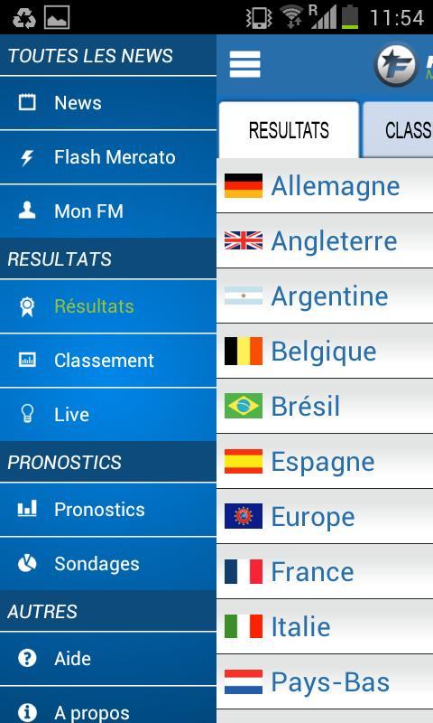 Foot Mercato - screenshot