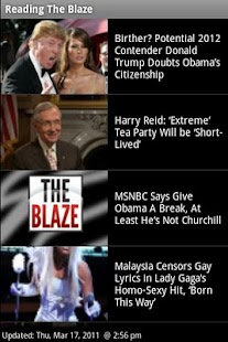Read The Blaze - screenshot thumbnail