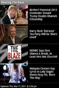 Read The Blaze - screenshot thumbnail