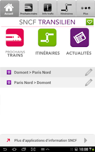 SNCF Transilien - screenshot thumbnail