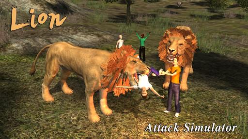 Lion Attack 3D Simulator