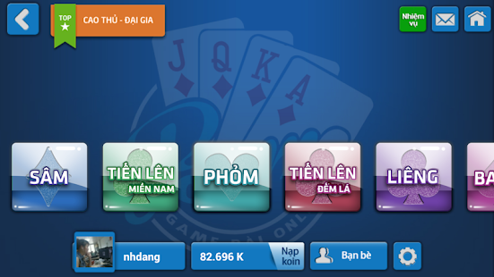 Beme - Game Danh Bai Online