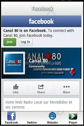 Canal Jazz Radio - screenshot