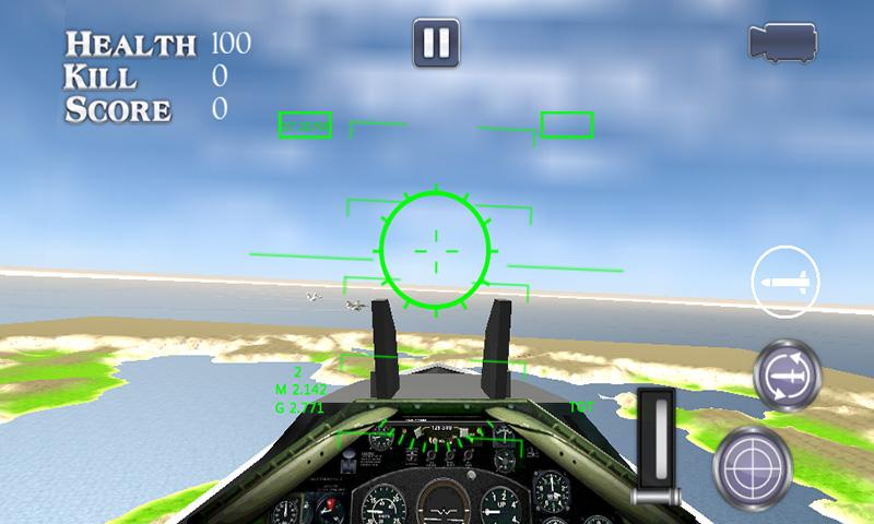 Modern Air Strike War- screenshot