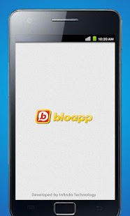 Bloapp - screenshot thumbnail