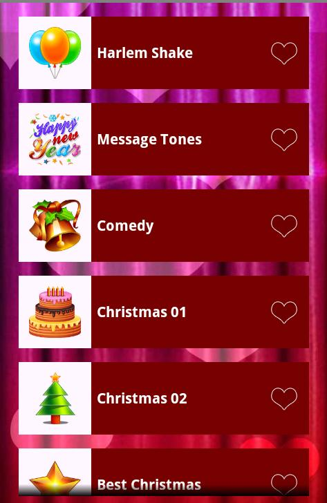 Christmas Ringtones 2014 - screenshot