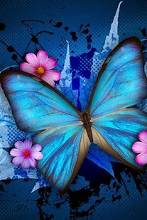 3D Butterfly wallpaper - screenshot thumbnail