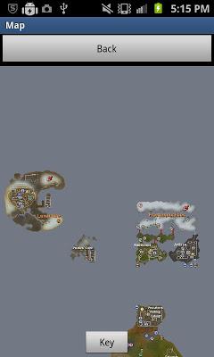 Runescape World Map - screenshot