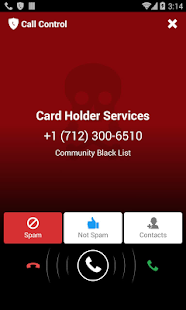 Call Control - Call Blocker - screenshot thumbnail
