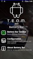 Screenshot of T.E.A.M. Battery Bar