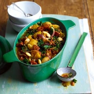 Kale And Chorizo Stew.