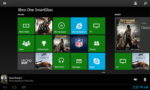 Xbox One SmartGlass Beta v2.4.1507.24100