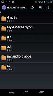 Goodev 4Shared Pro(No Ad)- screenshot thumbnail