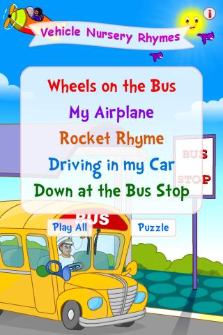 Vehicle Nursery Rhymes