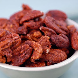 Simple Spiced Nuts.