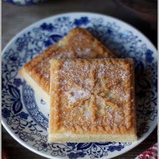 English Shortbread Cookies.