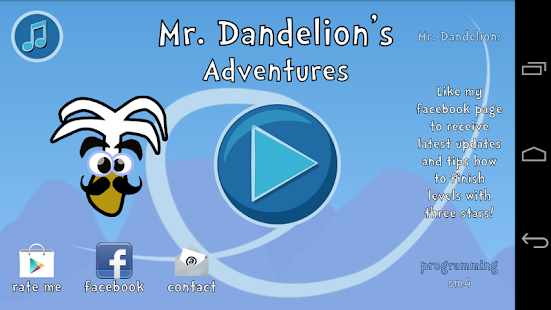 Mr. Dandelion's Adventures- screenshot thumbnail