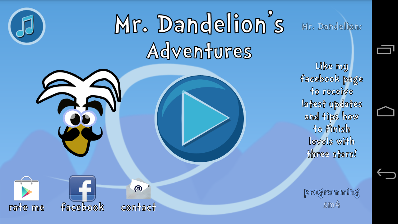 Mr. Dandelion's Adventures- screenshot