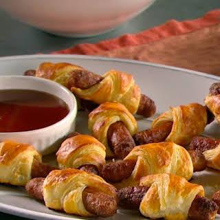 Breakfast Sausage Puffs.