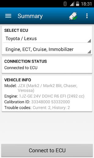 ELMScan Toyota Demo Version
