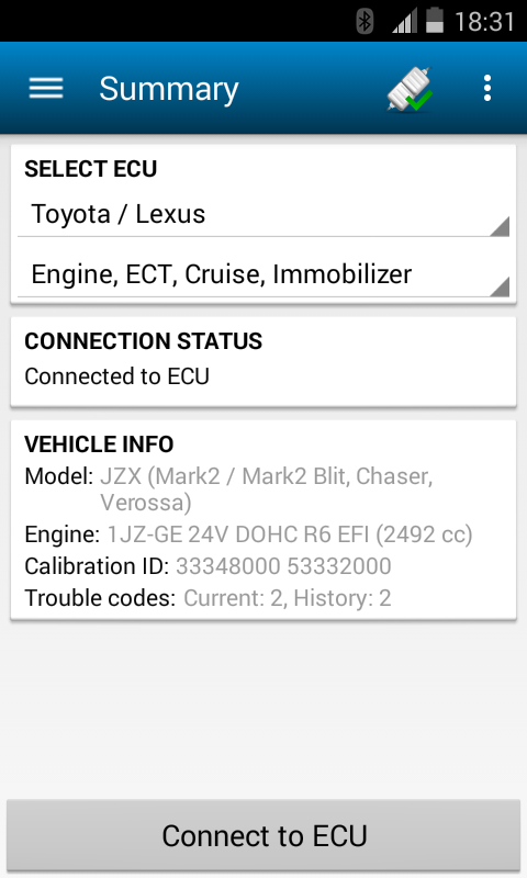 ELMScan Toyota (Demo Version)- screenshot