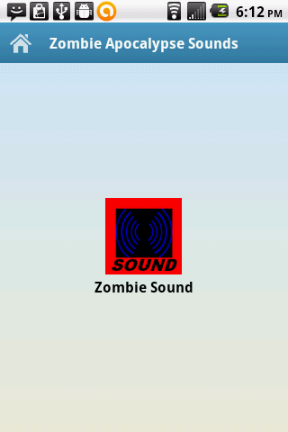 Zombie Apocalypse Sounds- screenshot