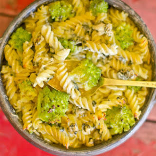 Broccoli Fuzzili with Blue Cheese