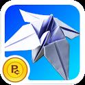 Origami Iris logo