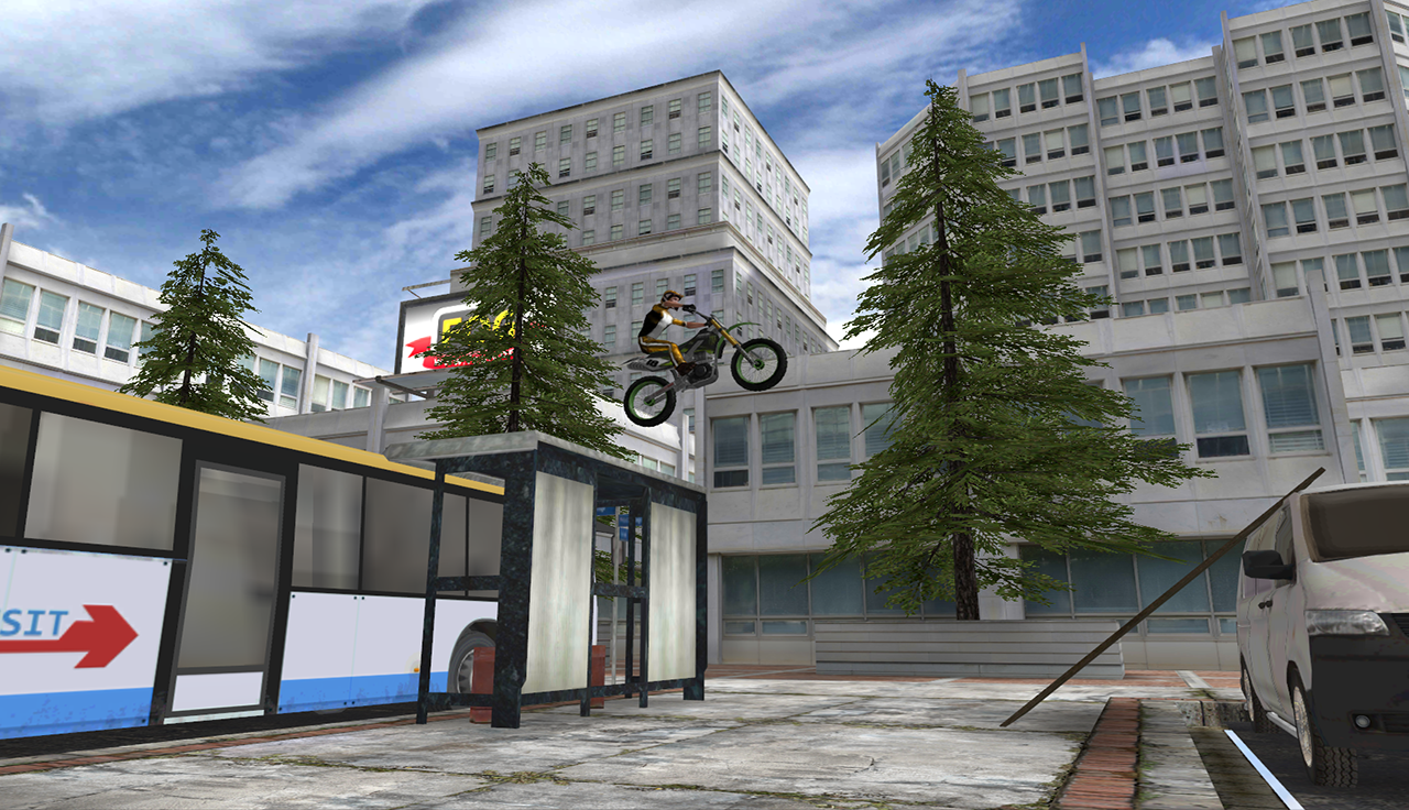 Stunt Bike 3D Premium - screenshot