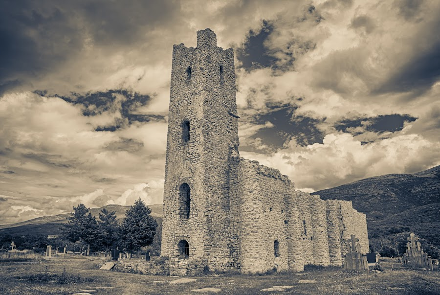 by Maja Stojkovic - Buildings & Architecture Decaying & Abandoned ( prayer, old, church, cetina, orthodox )
