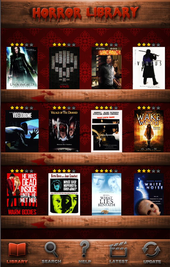 Best Horror Movies Database - screenshot
