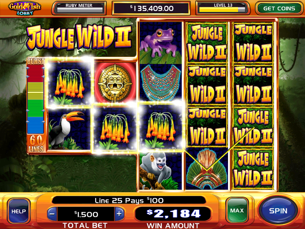 Gold fish casino slots screenshot for Gold fish card game