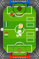 Screenshot of Four pigs soccer free
