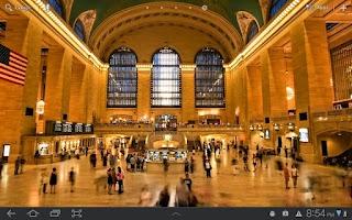 Screenshot of Grand Central Live Wallpaper