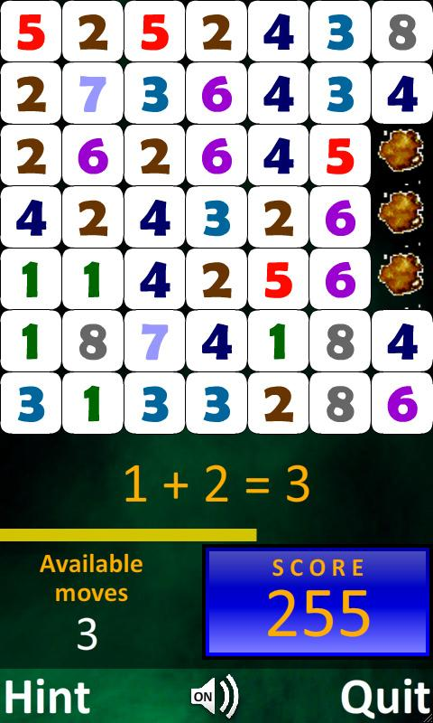 Mad Math 4 Kids Free - screenshot