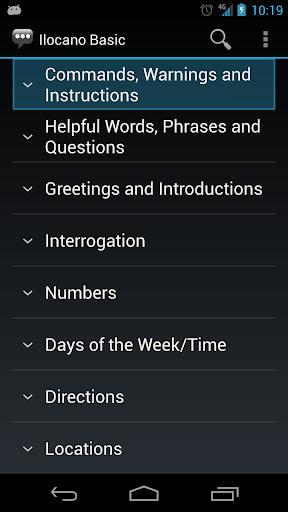 Ilocano Basic Phrases